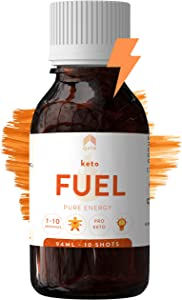 Ketone Ester Fuel - Keto Plus Fuel Provides 35g D-BHB Ester - Not a Salt, a Magic Ester - BHB Ketones Drink, Exogenous Ketones, Pre Workout, Rise Ketosis in 1-2 Hours - Sugar, Carbs & Caffeine Free