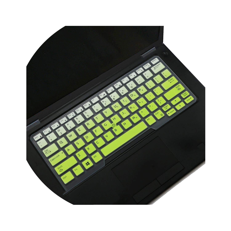 for Dell Latitude 5480 5490 7490 3340 E3340 E5490 5491 E5491 E5450 E5470 E7450 E7470 7480 E7480 Laptop Keyboard Cover Skin,Whiteblue