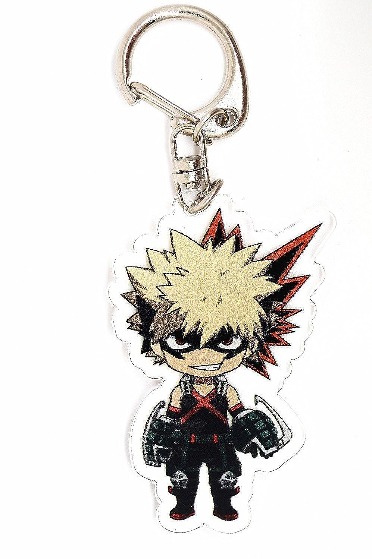 Keychain Boku No Hero Academia My Hero Academy Anime Manga Acrylic VEBE