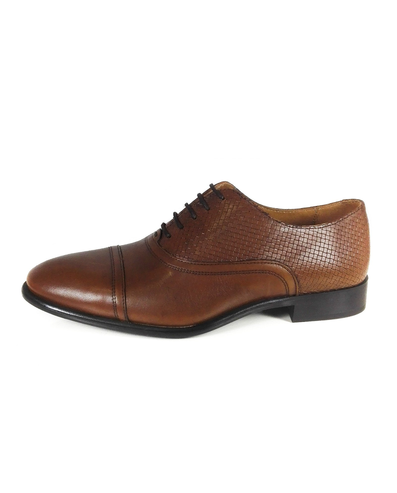 Zara Men Smart brown leather shoes 2402/302 (43 EU | 10 US | 9 UK)