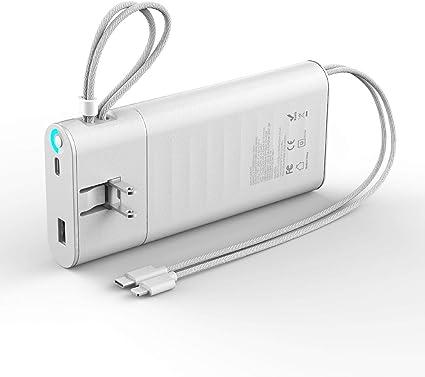 Amazon.com: QC3.0 Cargador portátil de 20000 mAh, carga ...