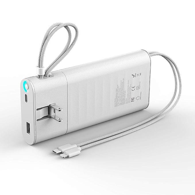 Cargador portátil de 20000 mAh, QC 3.0 de carga rápida USB C ...