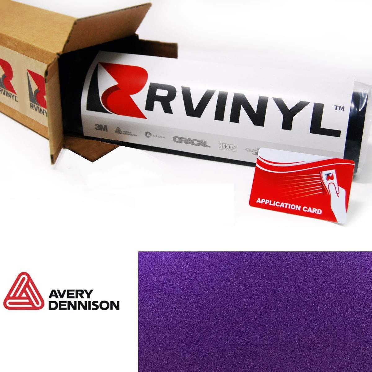 Samples-film matte metallic purple-avery dennison wrap as4220001