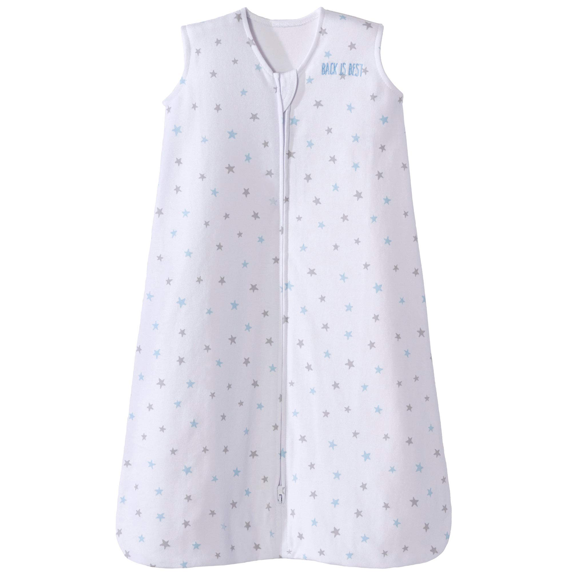 Halo Sleepsack Cotton Wearable Blanket, Blue Stars, X-Large by Halo
