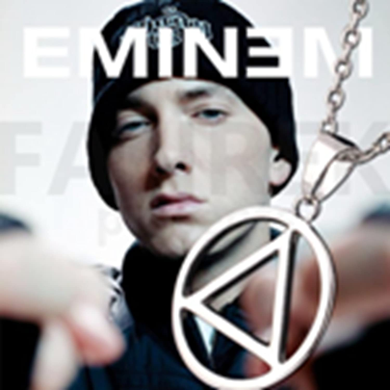 Eminem TMusic he Best RAPPER Grammy Titanium Steel Chain Rock Pop Necklace Hot