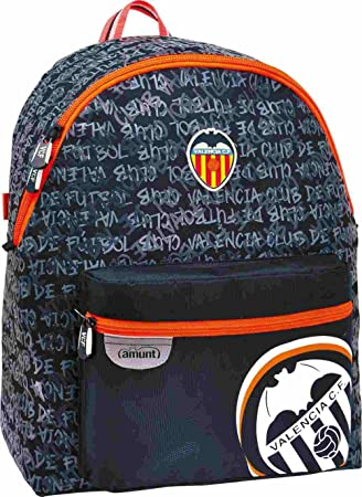 Mochila Escolar Valencia CF negra: Amazon.es: Equipaje