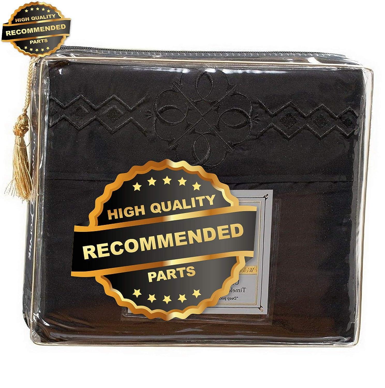 Gatton プレミアム1800シリーズ ベッドシーツセット - ロゴ枕カバー 12色   コレクション SHSCZ-18212561 フル B07L53N96H Color-3s フル