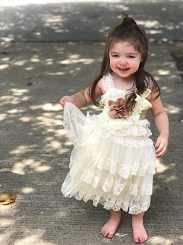 ea7056b16 Amazon.com  Flower Girl Dress