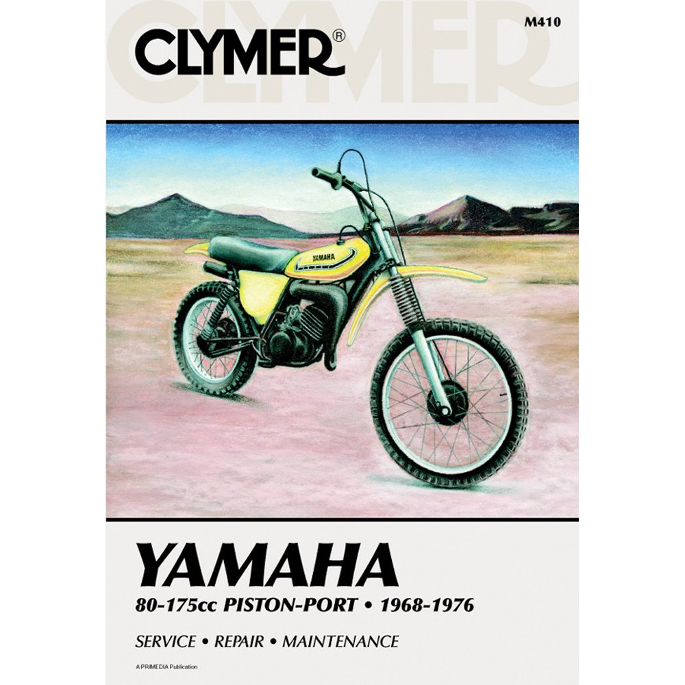 Amazon.com: Clymer Repair Manual for Yamaha 80-175 Enduro MX 68-76:  Automotive