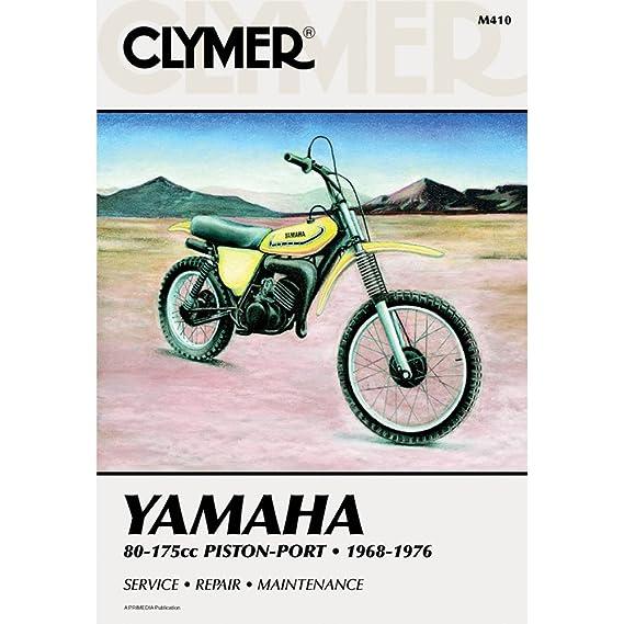 amazon com clymer repair manual for yamaha 80 175 enduro mx 68 76 rh amazon com 1978 yamaha dt 175 service manual free 1980 yamaha dt 175 service manual