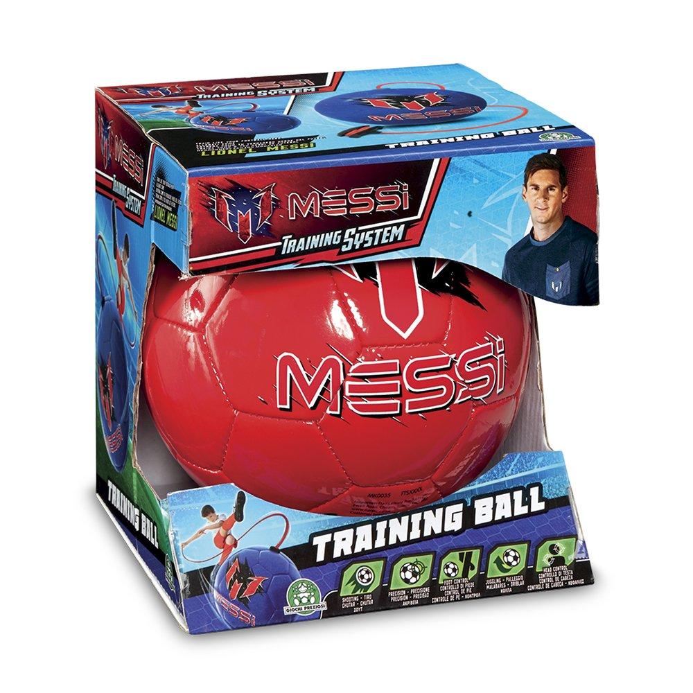Color Rojo Messi Trining Giochi Preziosi MET07000 Pelota de Soft f/útbol