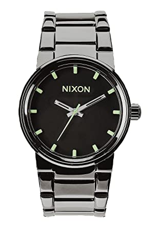 Nixon Unisex Cannon Polished Gunmetal/Lum Watch