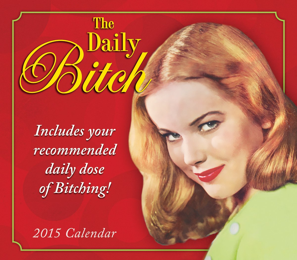 The Daily Bitch 2015 Boxed Calendar: Sellers Publishing Inc ...