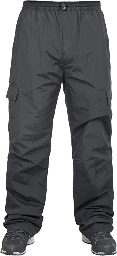Trespass Pantalones De Chandal Con Forro Interior De Tela Modelo Tedious Hombre Caballero Grande L Negro Amazon Es Ropa Y Accesorios