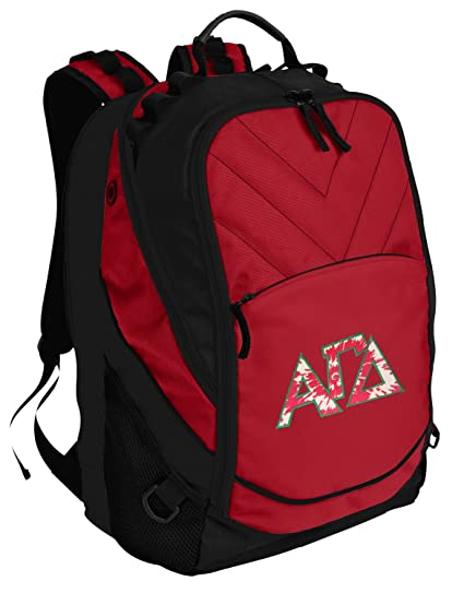 Image Unavailable. Image not available for. Color  Broad Bay AGD Sorority  Backpack Red Alpha Gamma Delta Laptop Computer Bags 4a33fb844a