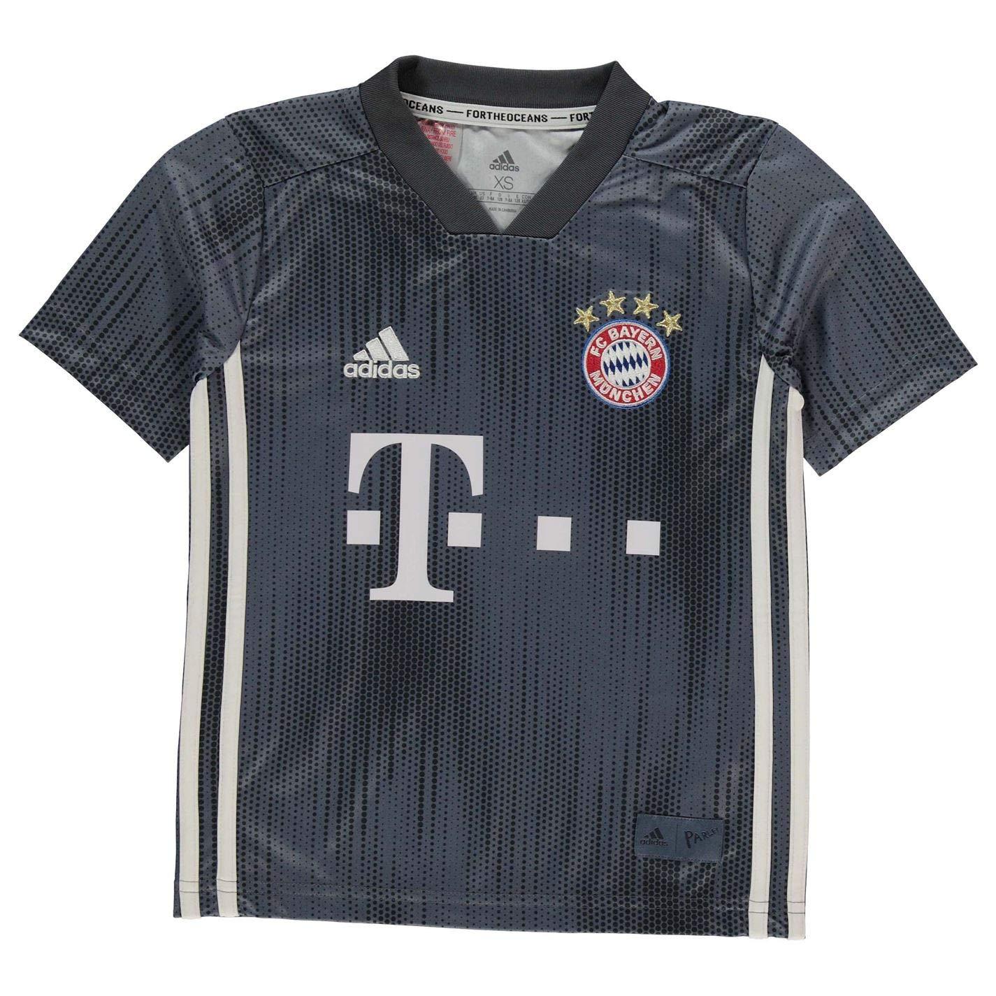 Adidas Kinder 19 FC Bayern 3rd Trikot 18 ntwfxh2628 Jungen