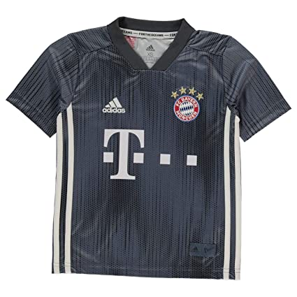 1c4ffab40 Amazon.com   adidas 2018-2019 Bayern Munich Third Football Soccer T ...