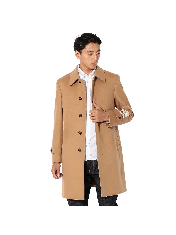 (サンヨー) SANYO 【MEN】<Rain Wool>Super180'Sバルマカーンコート P1B86003_ B077QR4W3N M|ベージュ(46) ベージュ(46) M