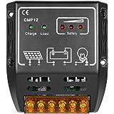 Anself Solar Charge Controller Solar Panel Battery Regulator Safe Protection10A 12V/24V