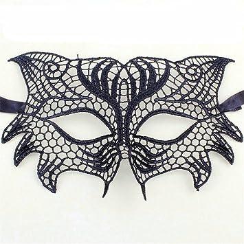 T-KMMK Mask Máscara Encaje Vestido de Fiesta de Disfraces de Halloween máscara de Halloween