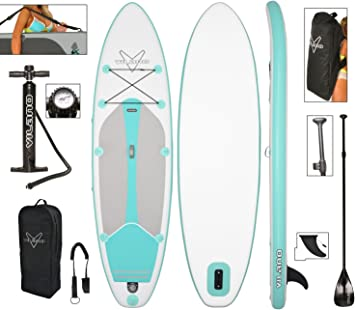 Amazon.com: Kit de SUP Vilano, incluye tabla inflable de ...