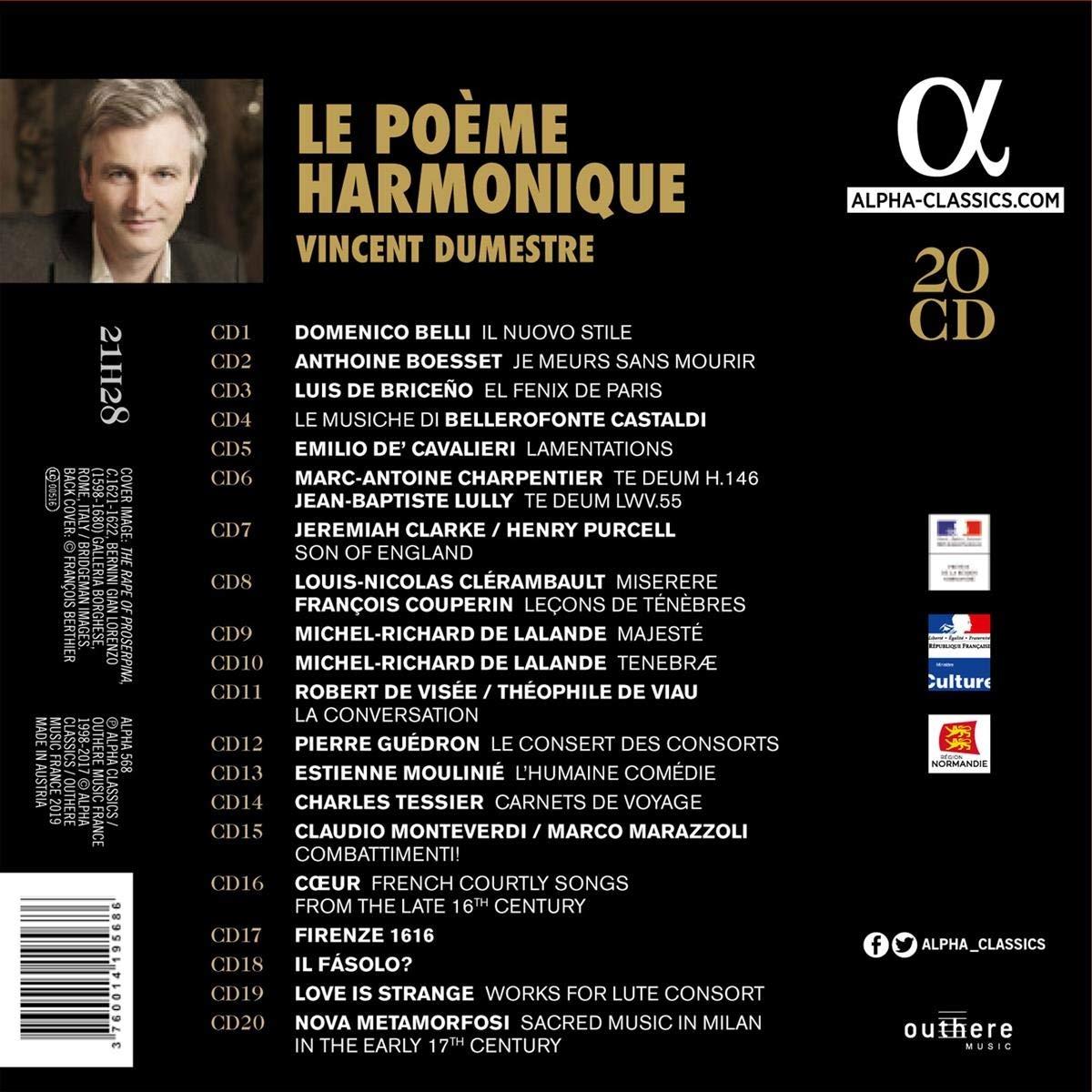 Vincent Dumestre et Le Poème Harmonique - Page 2 71Fa%2BsvXuDL._SL1200_