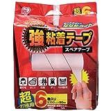 アイリスオーヤマ カーペットクリーナー 強粘着テープ 6巻入り DKC-K6P