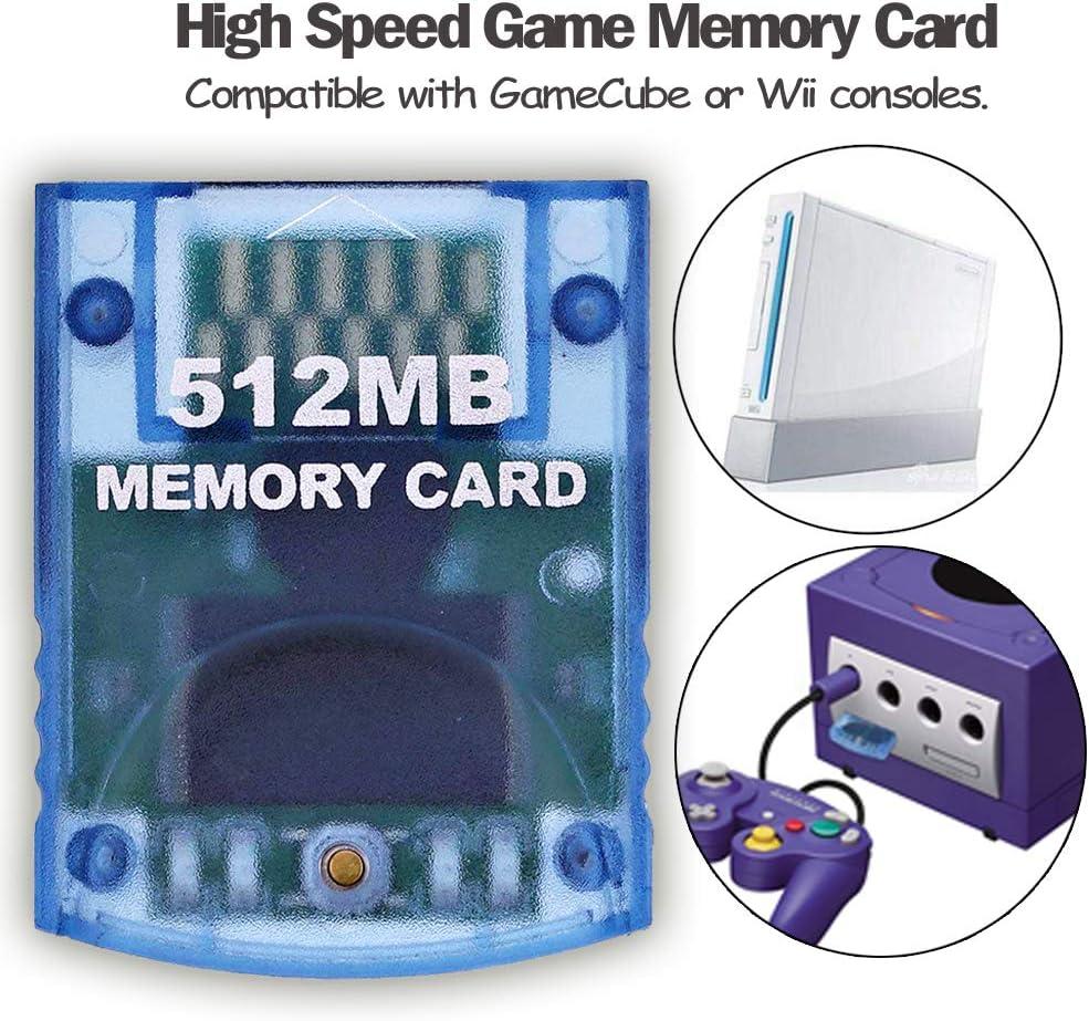 Amazon.com: Ssgamer Memeory Card 512MB(8192 Blocks) para ...
