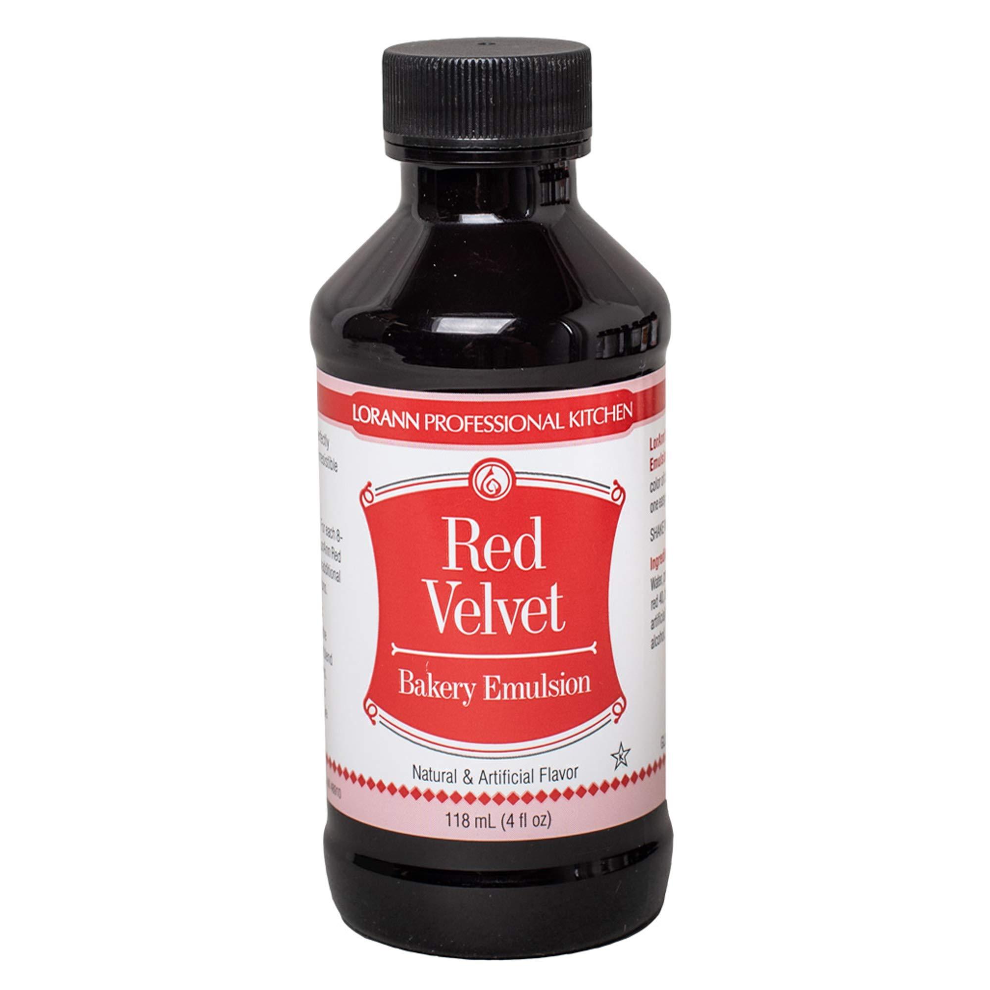 LorAnn Red Velvet Bakery Emulsion, 4 ounce bottle