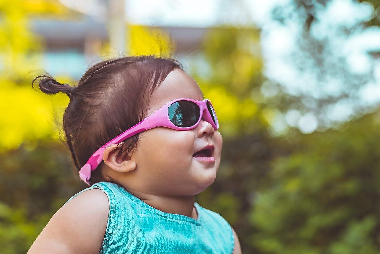 rosa//hot-pink Flexible Passform Real Kids 0EXPPKHP Explorer Babysonnenbrille Gr/ö/ße 0-2 Jahr
