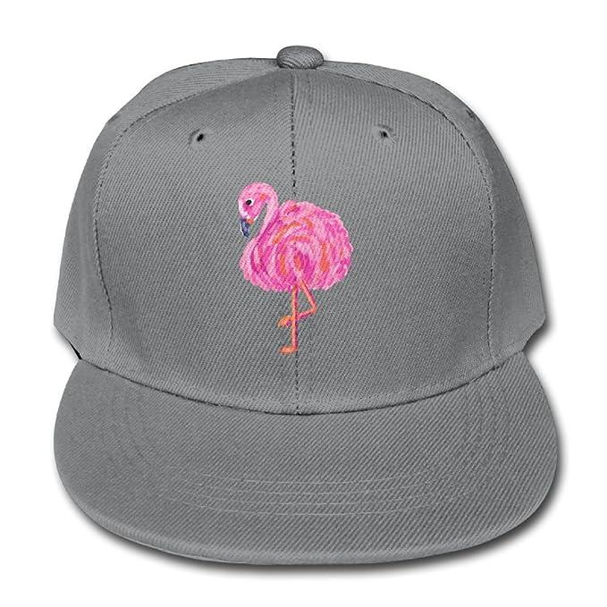 Chqeilng Oii Solid Color Baseball Cap Trucker Hats Fat Pink Flamingos  Boy-Girl 37bda445a7eb