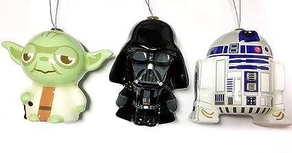 Amazon.com Star Wars Ornament Set , Bundle of 3 Hallmark