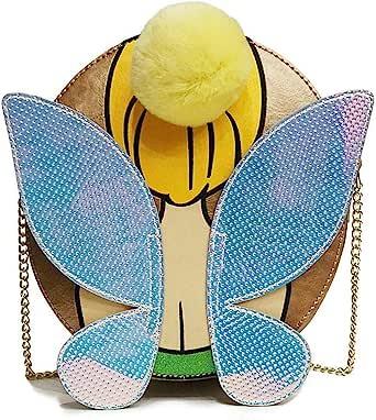 Danielle Nicole Disney Peter Pan Tinker Bell Cross Body Designer Bag