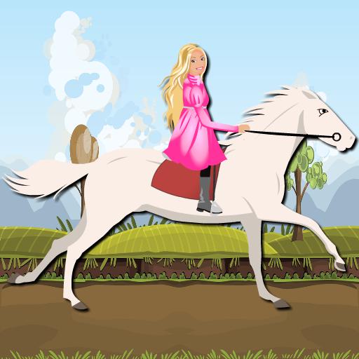 - Princess Ride White Horse