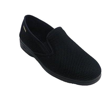 Man Schuh sehr komfortabel Lycra gesamte Schaufel Alberola marineblau größe 41 X6Vm6IG