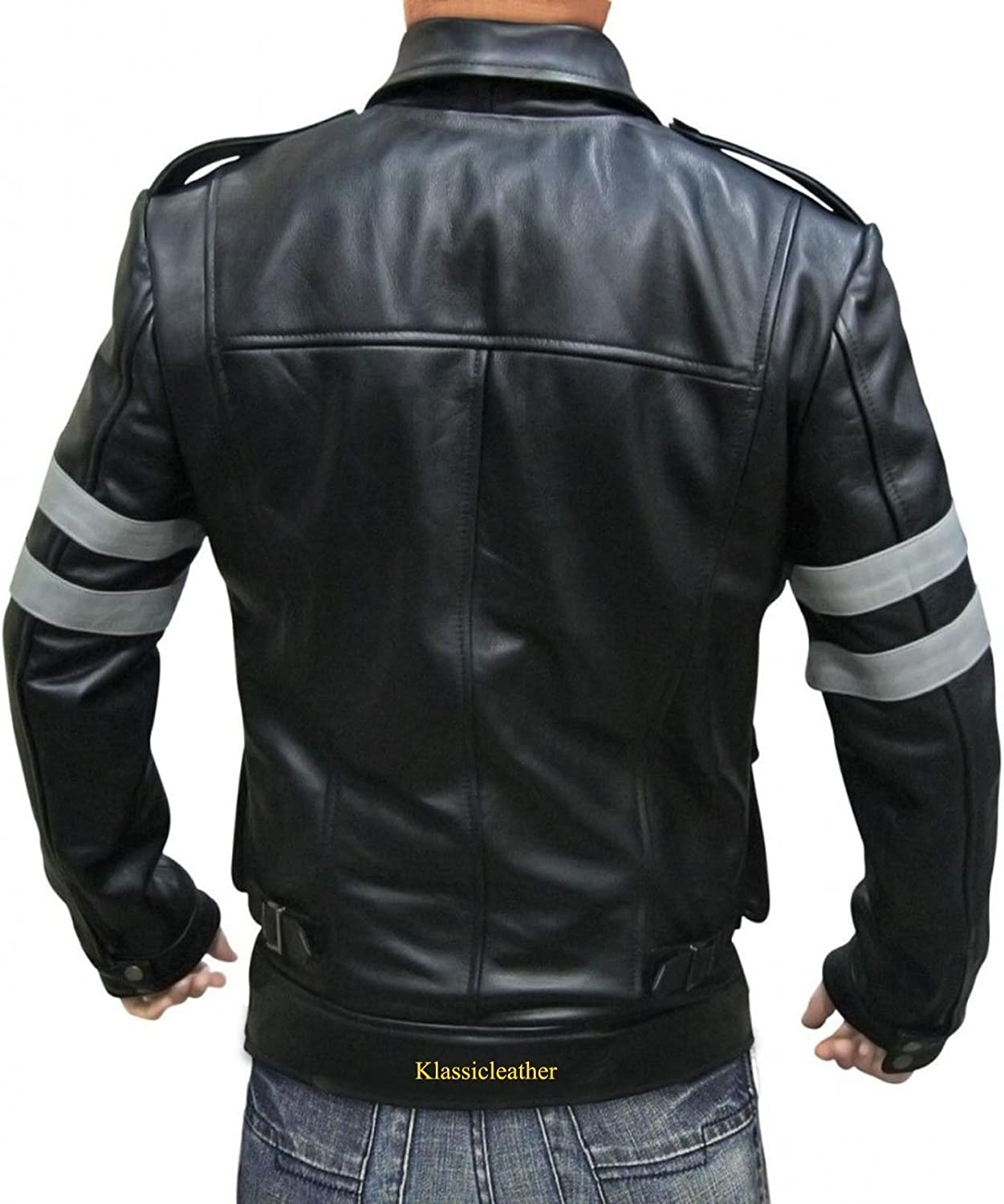 Travel Hide Mens Leather Jacket Motorcycle Genuine Lambskin Biker Jacket TM029