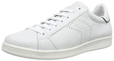 Geox U Warrens B, Sneakers Basses Homme, Blanc (C0006), 41 EU