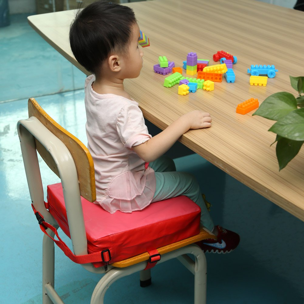Zicac Sitzerh/öhung Tragbare Sitzerh/öhung f/ür Kinder Seat Pad Hellblau