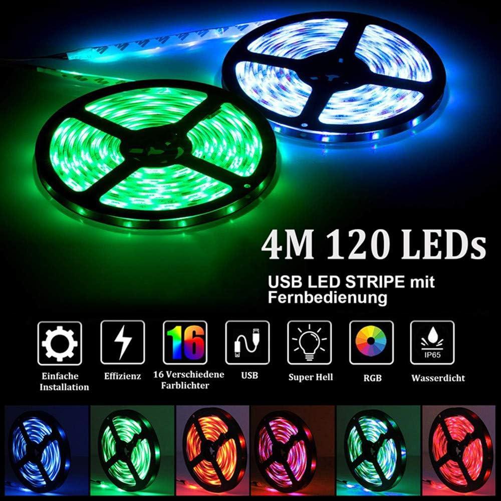 LED Sreifen verschiedene Größen für TV//PC//Laptop etc Dekoration USB Port Kabel