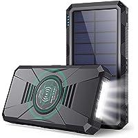Power Bank 30800mAh Batería Externa Movil con【15W Carga Inalambrica + Dual QC 4.0 + PD 25W Carga Rápida + Linterna LED】4…