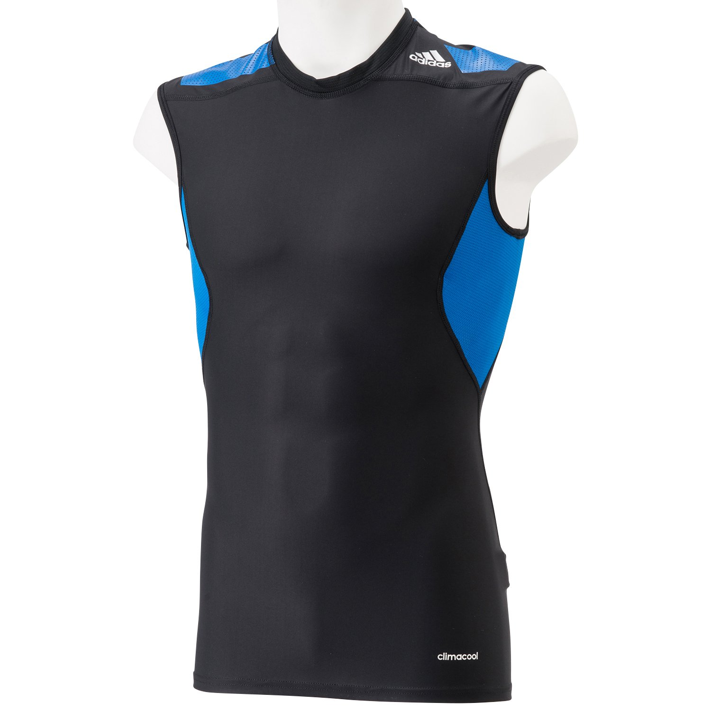 adidas Ärmelloses Shirt Techfit Power - Camiseta, color negro, talla XL: Amazon.es: Deportes y aire libre