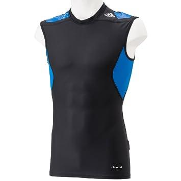 3f0ce784d2e30 adidas Men s Techfit Powerweb Sleeveless Shirt - Black