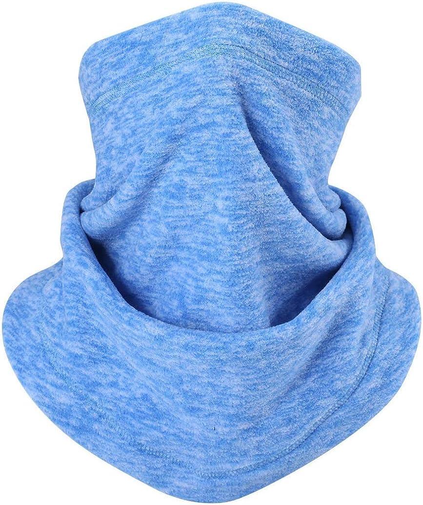 Ligart Fleece Scarves Neck Gaiter Warmer Windproof Face Mask for Cold Weather