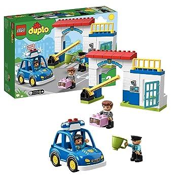 20a75e170 LEGO® - Duplo Rescue Comisaría de policía, Juguete Creativo de construcción  y Aventuras, 10902: Amazon.es: Juguetes y juegos