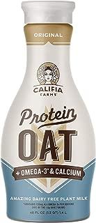 product image for Califia Farms - Protein Oat Milk - Original, 48oz, Plant Based Protein, High Calcium & Vitamin D, Non Dairy, Nut Milk, Vegan, Non-GMO