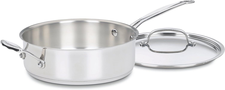 Amazon.com: Cuisinart Chef s Classic Saute sartenes ...