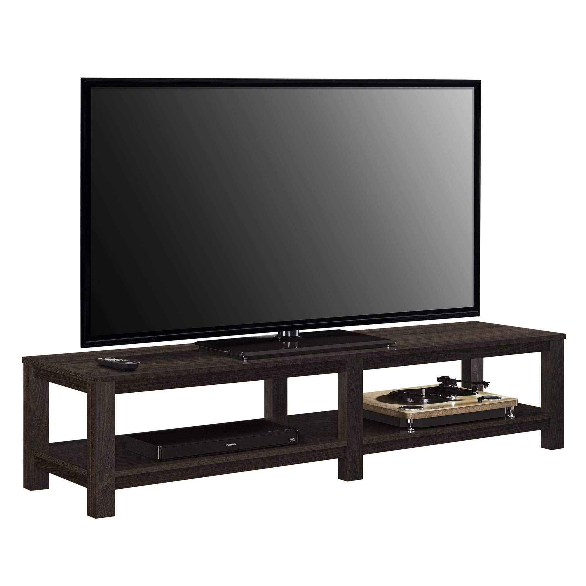 Ameriwood Basics Evelyn TV Stand for TVs up to 65'' (Espresso) by Ameriwood Home