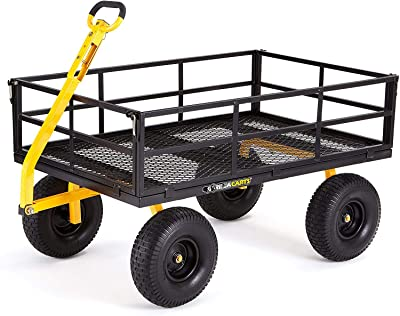 Gorilla Carts GOR1400-COM Heavy-Duty Steel Utility Cart