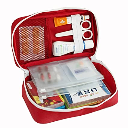 2019 Latest Design Newest Waterproof Portable Camping First Aid Kit Emergency Medical Bag Car Kits Bag Outdoor Travel Survival Kit Empty Bag Attractive Appearance Back To Search Resultssports & Entertainment Safety & Survival