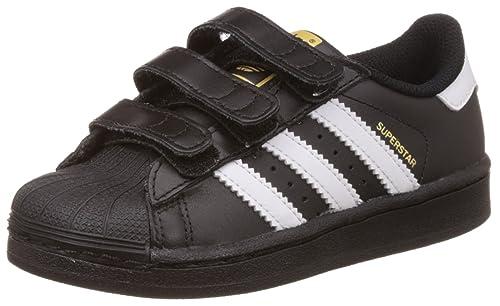 Details zu adidas Originals Superstar I Baby Kleinkinder Schuhe Turnschuhe Schwarz Weiß